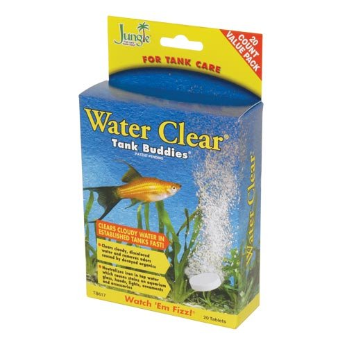 Jungle Labs Water Clear Tank Buddies 20 Tabs