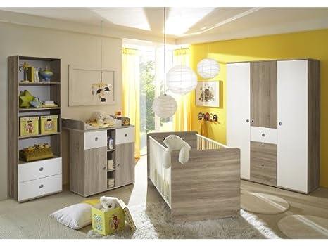 Babyzimmer Wiki Eiche Sonoma Weiss