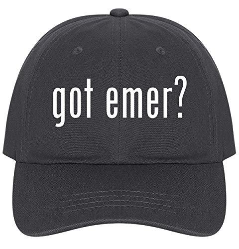 The Town Butler got emer? - A Nice Comfortable Adjustable Dad Hat Cap, Dark -