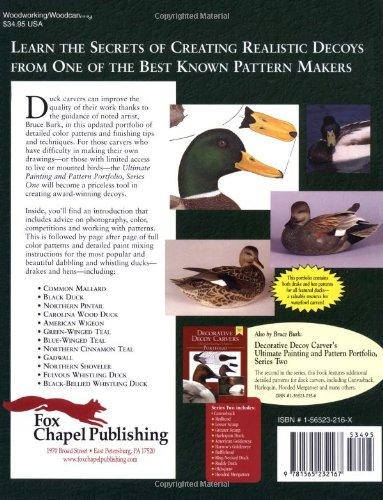 1: Decorative Decoy Carvers Ultimate Painting & Pattern Portfolio - Series One