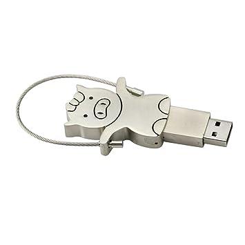 Amazon.com: Pig modelo Pen drive USB Flash Drive USB 2.0 ...