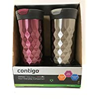 2 Pack Contigo Kenton Stainless Steel Travel Mug 20.0 oz.