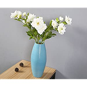 Skyseen 3PCS Artificial Clematis Flowers for Home Decoration 1