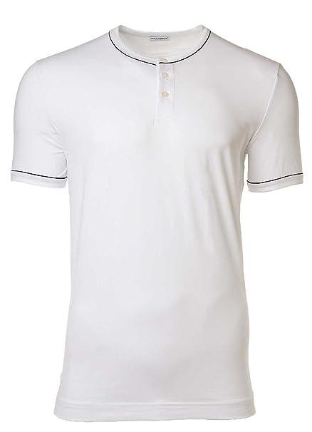 Dolce & Gabbana Camiseta Hombre, Serafino, D & G, Cuello Redondo, Tapeta