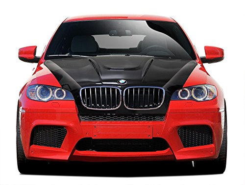 - Aero Function Replacement for 2008-2014 BMW X6 X6M E71 2007-2013 BMW X5 E70 Carbon AF-5 Hood (CFP) - 1 Piece