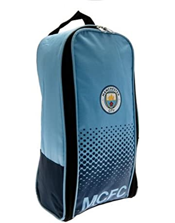 f1798231e Manchester City FC Football Team Boot Shoe Zip Bag with Handle