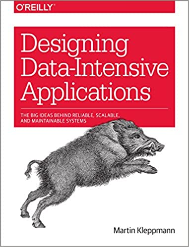Portada libro Big Data Designing Data-Intensive Applications