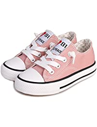 Toddler/Little Kid Boys and Girls Slip On Canvas Sneakers