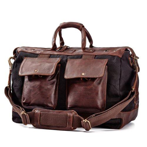 Inspired Bridle (Will Leather Goods Men's Traveler Duffel Bag -)