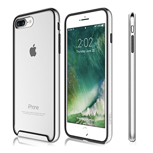 "iPhone 7 Plus 5.5"" Case, GPEL EverPure Duo Protective Clear Hybrid Bumper..."