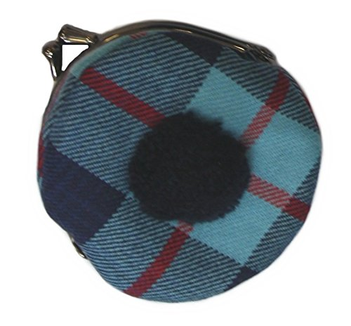 Help For Heroes Plaid Bonnet Coin Purse