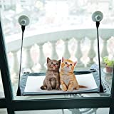 CO-Z Kitty Window Mount Cat Window Perches Resting Hammock with 4 Ultra Heavy Duty Suction Cups Holds up to 88lbs Review