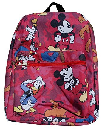 Disney Mickey Mouse & Friends Red All Printed 16
