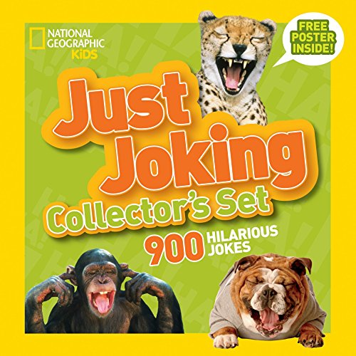 (National Geographic Kids Just Joking Collector's Set (Boxed Set): 900 Hilarious Jokes About Everything )