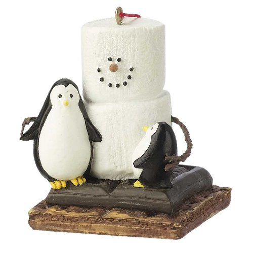 christmas decoration smores with penguins christmaseveryday ornament