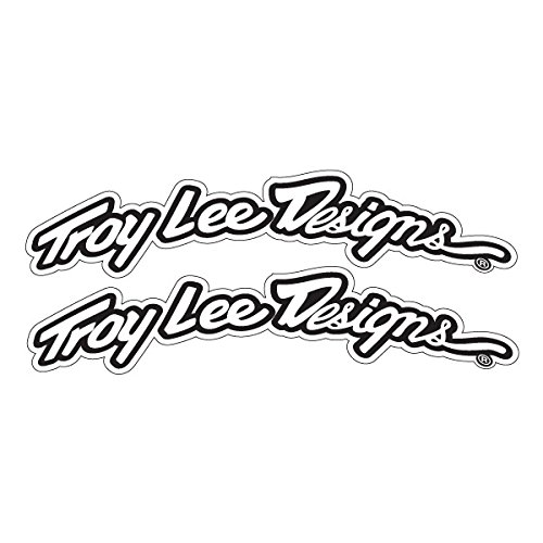 Tld Decal (Troy Lee Designs TLD Fender Decals - Black/White)