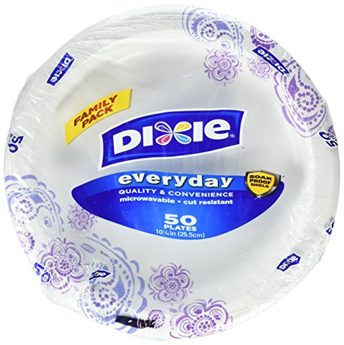 Dixie Plates, Everyday, Family Pack, 50 ct by Dixie