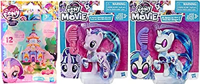 My Little Pony DJ Pon-3 & All About Starlight Glimmer Movie Collection 2 Pack + MLP Friendship is Magic Blind Bag