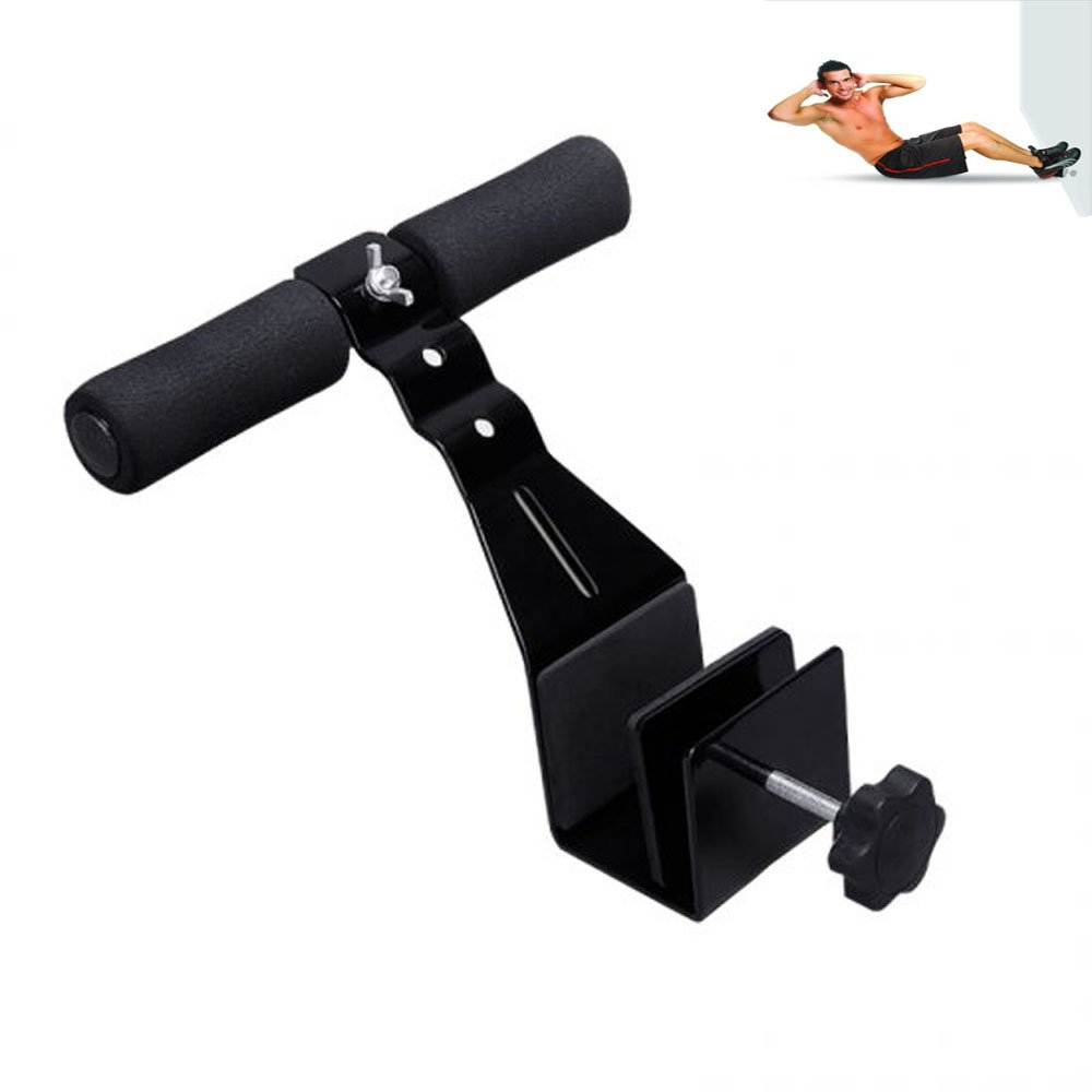 Zinnor Home Portable Pull Ups Sit-ups Bar Fitness Door on the Waist Abdominal Tonner Slimming Gym Muscle Strength Exercise Device Ab Workout Attachment