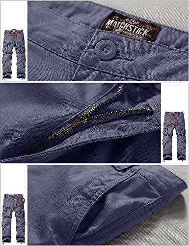 De Travail bluish 3357 Gray Match Vintage Homme Gris Cargo 3357 Pantalon Pour Bleu xnISIAOw