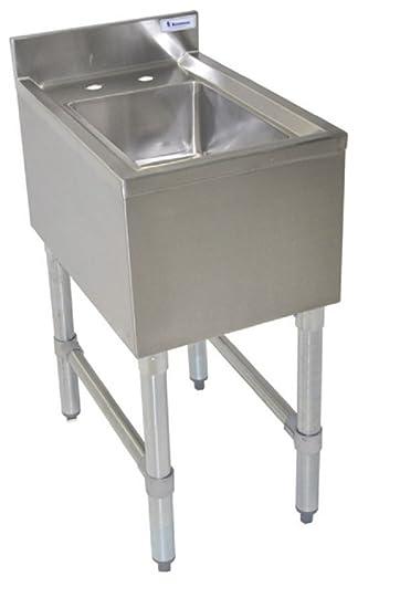 14 Quot X 10 Quot Stainless Steel Dump Sink Restaurant Commercial