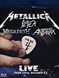 The Big 4 Metallica Slayer Megadeth Anthrax: Live from Sofia, Bulgaria [Blu-ray]