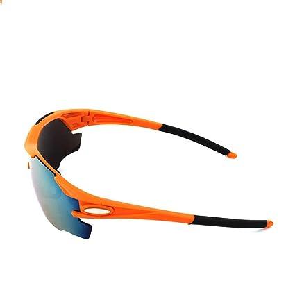 TtKj Gafas de Deporte Gafas de Sol Bicicleta Deportes ...