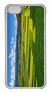 Customized iphone 5C PC Transparent Case - Field 3 Personalized Cover