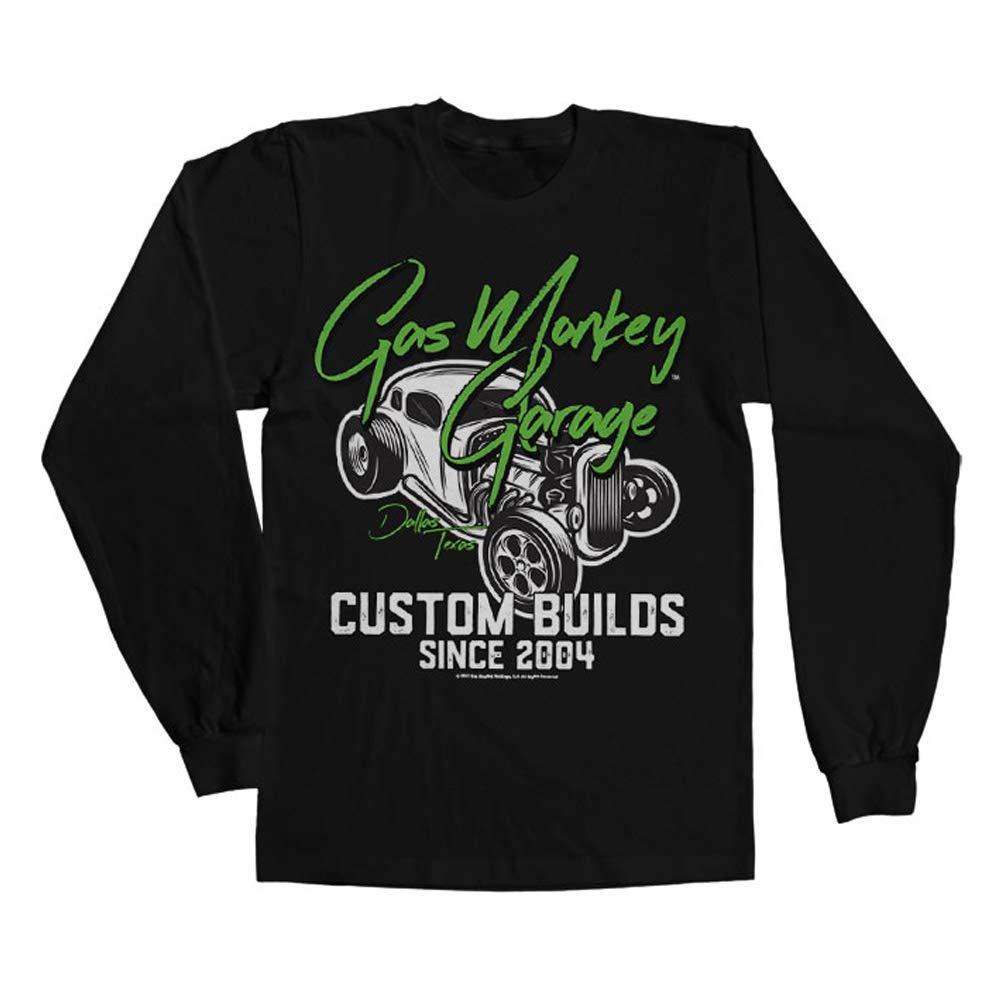Gas Monkey Garage Oficialmente Licenciado Custom Neon Camiseta de ...