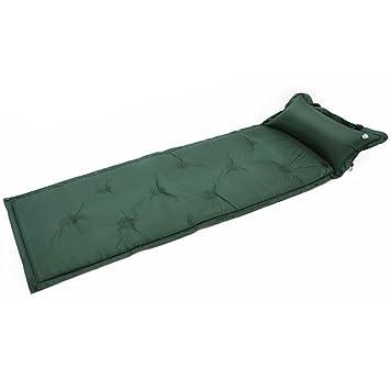 Saco de Dormir autohinchable Impermeable, Colchón autohinchable para Acampada con Almohada Inflable para Dormir y Acampada, Verde: Amazon.es: Deportes y ...