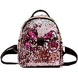 Inkach Womens Backpack Purse - Fashion Mini Sequins Travel Shoulder Bag School Bags Rucksack