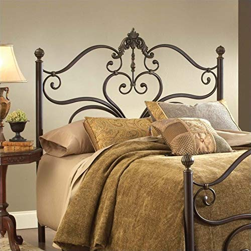 Hillsdale Newton Spindle Headboard in Antique Brown-King - King