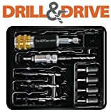 DeckWise Drill & Drive Tool for Pre-drilling, Countersinking & Driving Decking (Hardwood, Composite, PVC, Pressure Treated)