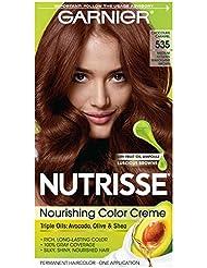 Garnier Nutrisse Nourishing Hair Color Creme, 535 Medium...