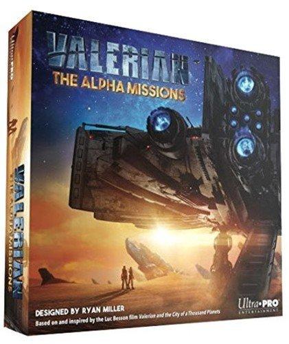 Upe Originals Valerian: The Alpha Missions - Juego de mesa de estrategia
