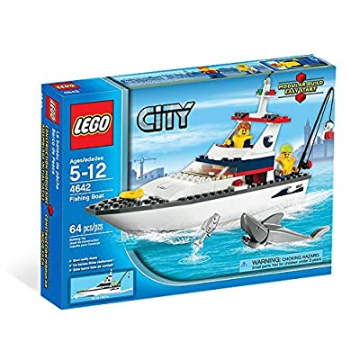 LEGO City Fishing Boat 4642: Toys & Games