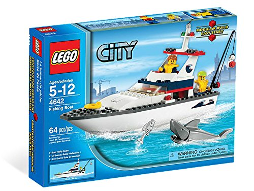 LEGO City Fishing Boat 4642 (Fishing Harbour)