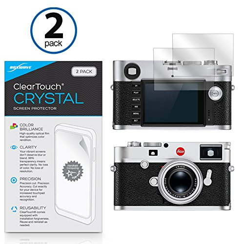 Leica M10 (Typ 3656) Screen Protector, BoxWave [ClearTouch Crystal (2-Pack)] HD Film Skin - Shields From Scratches for Leica M10 (Typ 3656) M10 Shield