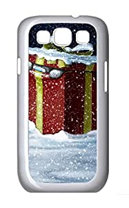 Samsung Galaxy S3 I9300 Cases & Covers - Christmas Bear Custom PC Soft Case Cover Protector for Samsung Galaxy S3 I9300 - White