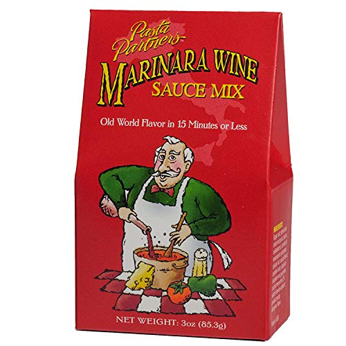 Pasta Partners Marinara Wine Sauce Mix, 3 Ounce