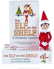 The Elf on the Shelf Box Set - Girl Light, Bilingual Packaging, English Book - Series 3