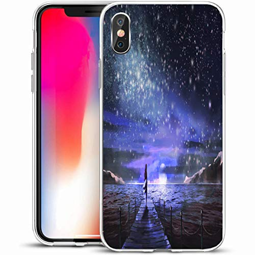 Tobesonne Protective Phone Case Cover for iPhone X/XS