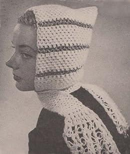 Free Knitting Pattern Pixie Hood : Crocheted Pixie Hood Scarf Crochet Pattern - Kindle ...