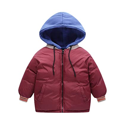 Amazon.com: Little Kids abrigo cálido de invierno, Jchen (TM ...