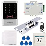 UHPPOTE Full Complete Waterproof Outdoor Use 125KHz RFID EM ID Card Single-door Stand-alone Access Control Kit