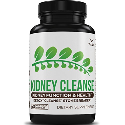 (Kidney Cleanse Supplement with Chanca Piedra - Natural Detox Support Formula for Kidney Flush & Detox, Function & Health, Premium Stone Breaker & Dissolver with Organic Cranberry, 60 Veggie Capsules)