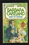Debt of Honor, Barbara Cartland, 0515048313