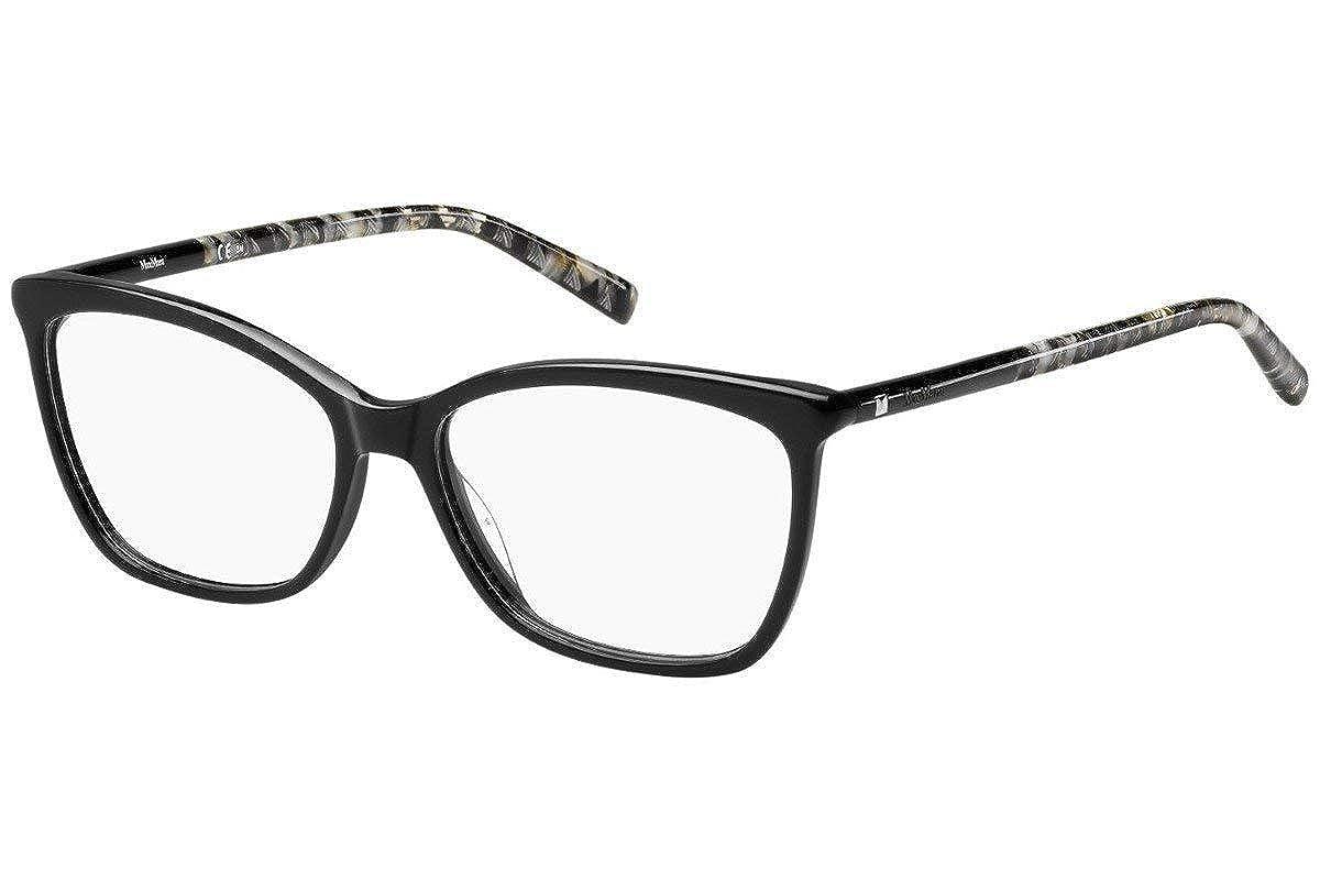 Eyeglasses Max Mara 1305 01EI Black Gray Text