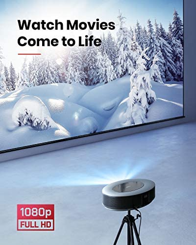 Anker Nebula Cosmos Full HD 1080p Home Entertainment Projector, 1080p Video Projector,900 ANSI Lumens, Android TV 9.0, Digital Zoom, HLG, HDR10 51gPKTv0isL