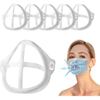3D Face Bracket [6 PCS] for Comfortable Breathing,Clear Washable Reusable Face Inner Support Frame | Soft Silicone Face…